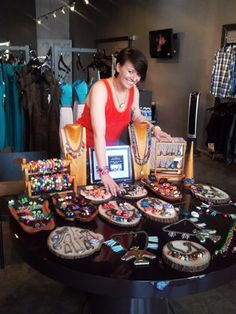 Trunk show at FOUR boutique in LA.  Shop FOUR on west Melrose and OuroborosDesigns.com for great summer jewelry!