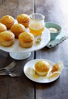 Zingy Cupcakes with Lemon Mayo!
