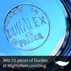 Duralex...LOVE!