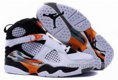 separation shoes 3465d 2d75f 2013 New Black White Shallow Orange Charcoal Grey Air Jordan 8 Embroidery  Retro Mens Basketball Shoes Store
