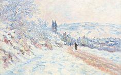 Works by Monet, Cézanne