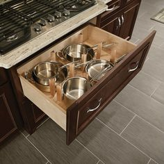 Make your kitchen cabinet designs and remodeling ideas a reality with the most recognized brand of kitchen and bathroom cabinetry - KraftMaid. Drawer Design, Kitchen Innovation, Kitchen Drawer Inserts, Kraftmaid Kitchens, Kitchen Cabinets, Maple Kitchen Cabinets, White Modern Kitchen, Kitchen Organization, Kitchen Drawers