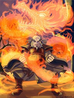 Iroh: Dragon of the West by ~squidbunny on deviantART