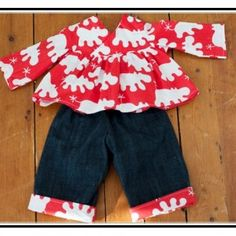 Making Baby Clothes From Old Clothes