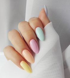 What Christmas manicure to choose for a festive mood - My Nails Simple Acrylic Nails, Summer Acrylic Nails, Best Acrylic Nails, Acrylic Nail Designs, Summer Nails, Nagellack Design, Nagellack Trends, Aycrlic Nails, Hair And Nails