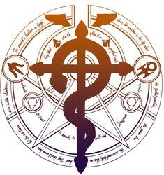 Transmutation circle by Ptiyokai on deviantART