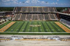 The new Southern Miss football field