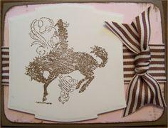 Pink & Brown Cowboy made by myself.