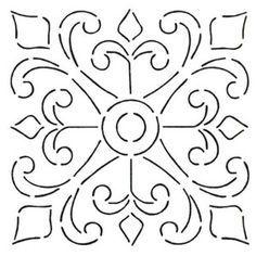 talavera stencil - Google Search                                                                                                                                                                                 More