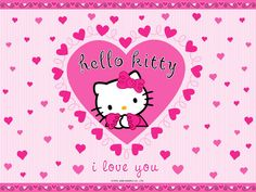 Keeping in view the popularity of hello kitty, I have compiled a list of cute hello kitty wallpaper backgrounds for you. Sanrio Hello Kitty, Hello Kitty Fotos, Images Hello Kitty, Hello Kitty Rosa, Pink Hello Kitty, Hello Kitty Birthday, Happy Birthday, Hello Hello, Pink Cat
