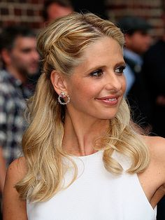 She's provides us with long hair inspo for years and our noughties crush, Sarah Michelle Gellar aka Buffy the  Vampire Slayer, still looks tress terrific. For the Late Show in New York she added interest to her down 'do with sweet parallel twists swept back from her centre parting. So simple, but so effective.THE BEST CELEBRITY BOB HAIRSTYLESHAIR OILS TRIED AND TESTED BY COSMOGET MORE EXPERT BEAUTY REVIEWS  -Cosmopolitan.co.uk