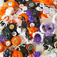 Halloween Party Favor Pack Package includes (72) pieces of halloween favors…