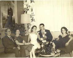 Photos like this remind me of my grandma's old photos from Cuba. I think everyone was stylish back then.
