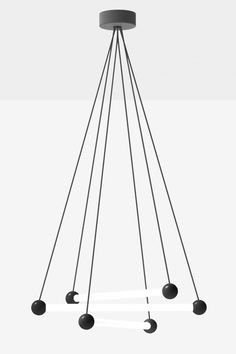 Pendant lamp RAY by SYLVAIN WILLENZ (2011)