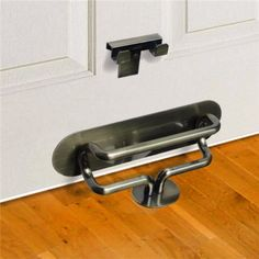 Keep yourself safe. This security lock for your door is made of brass! More tips via www.arrestrecords.us.org