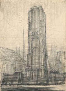 The drawings of Constructivist architect Iakov Chernikhov