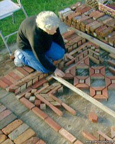 brick rugs with Margaret Kerr