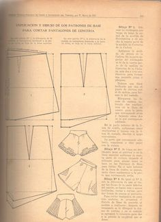 marti costura - costurar com amigas - Picasa Albums Web. Lingerie Patterns, Clothing Patterns, Underwear Pattern, Sewing Lingerie, Dress Making Patterns, Vintage Dress Patterns, Pattern Cutting, Pattern Making, Sewing Clothes