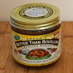 I have never tried the organic (can't get it in the middle of nowhere) but this product truly is better than any bouillon or broth you can find
