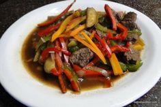 Cómo hacer salteado de verduras con carne