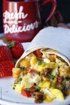 Breakfast burritos are quick and easy and you can make a whole bunch and freeze them for those rushed mornings. # breakfast burritos Breakfast Burrito Recipe {Freezer Friendly} - Butter Your Biscuit Breakfast Biscuits, Breakfast Toast, Breakfast Recipes, Camping Breakfast, Breakfast Wraps, Breakfast Ideas, Breakfast Casserole, Freezer Breakfast Burritos, Perfect Breakfast
