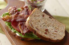 Bacon and Sun-Dried Tomato Bread Recipe