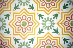 Traditional Spanish design, Tradiciónal diseño ,Hydraulic Authentic Andalusian Tiles for both the floor and wall.