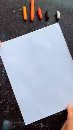 Oil Pastel Drawings Easy, Cool Art Drawings, Amazing Drawings, Art Drawings Sketches, Chalk Pastel Art, Oil Pastel Art, Oil Pastel Techniques, Summer Camp Art, Art Deco Paintings