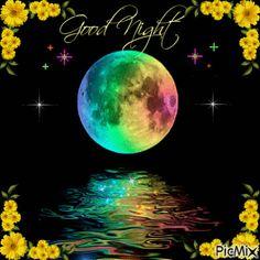 Good Night All, Good Night Flowers, Night Love, Good Night Moon, Good Night Image, Good Night Quotes, Good Night Greetings, Good Night Wishes, Bedtime Quotes