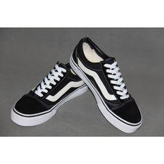 Vans Classic Canvas BLACK With White Curve Shoes Cheap Van, Vans Skate, Van For Sale, Shoes Outlet, Vans Classic, Vans Shoes, Canvas, Sneakers, Shopping