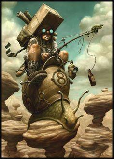 snailmail hahaha, i love this artist (Brian Despain)