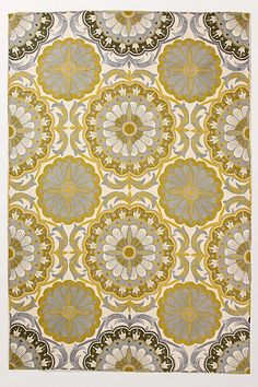 Totally feeling gray and yellow. This rug is gr-eeeeat. $78 on Anthropolgie