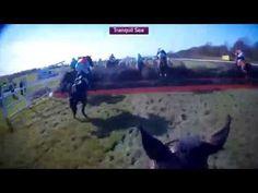 Grand National Jockey Cam Compilation - YouTube