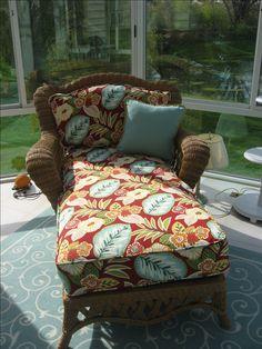 Corded Chaise Lounge Patio Cushions -  Dublin, Ohio
