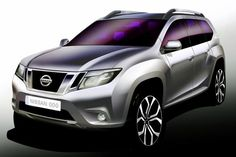 New Nissan SUV Terrano - coming soon in India, More cars prices in India & car details available @ AutoInfoz.Com