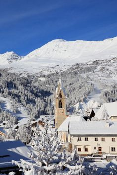 Serfaus village in Tirol, Austria
