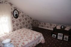 Lizzie Borden House - Bridget Sullivan's Room (by Penfold the Hamster) Castle House, Fall River, Closet Storage, House Goals, New Girl, Home Bedroom, Room Inspiration, Toddler Bed, Indoor