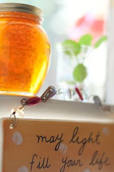 My every-morning lover... honey! I heart you and I am ever so thankful to the bees :)