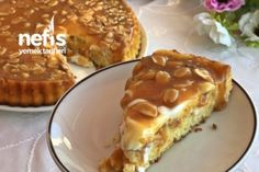 Snickers Pasta (Yer Fıstıklı Pasta) – Nefis Yemek Tarifleri Snickers Cake (Peanut Cake) in the the Snickers Cake, Snickers Cheesecake, Cheesecake Recipes, Dessert Recipes, Yummy Recipes, Peanut Recipes, Pie Recipes, Peanut Cake, Delicious Desserts