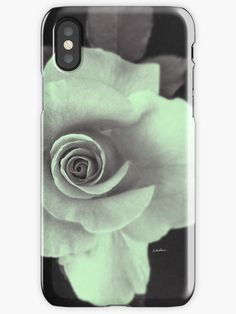 Rose With a Touch of Lime by Polka Dot Studio for Phone Cases, new, cool #lime on #tech #accessories, #pouches and more! Coordinating products available.
