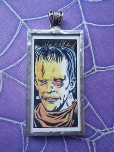 Frankenstein House of Horror Sweet Cigarette by OldeTowneJewelry, $68.00