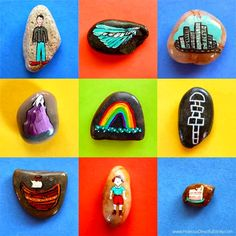 My Story Rocks! Brownies Activities, Girl Scout Activities, Play Therapy, Art Therapy, Story Stones, Kindness Rocks, Busy Bags, Stone Painting, Rock Painting