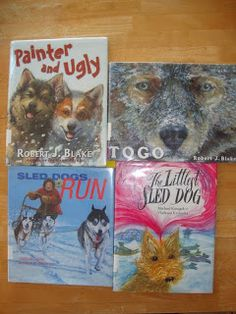 Great books for learning about sled dogs and the Iditarod