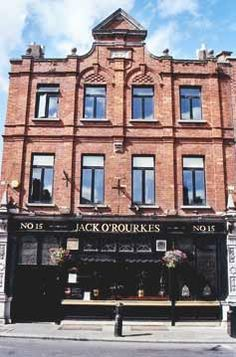 local pub Jack O'Rourkes in Blackrock, Ireland..