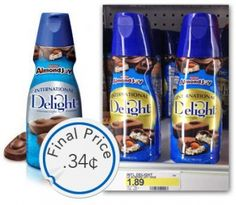 International Delight Coffee Creamer, Only $0.34 at Target with Checkout 51! Pinned 1/23/14