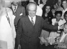 Senador Getúlio Vargas em São Paulo. São Paulo (SP), 1946.