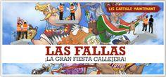 Las fallas, la gran fiesta callejera (Veinte Mundos)