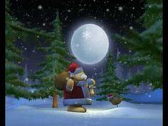 Christmas Santa Claus and Robin