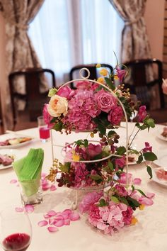 THE HOUSE Shirogane様のレセプションパーティの装花、 昨日の記事の続きです。    供されたお食事のおいしさにびっくり。 ...