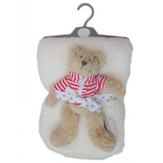 Pitter Patter: Bontdekentje met beertje Baby Gifts, Christmas Ornaments, Holiday Decor, Home Decor, Products, Seeds, Decoration Home, Room Decor, Christmas Jewelry